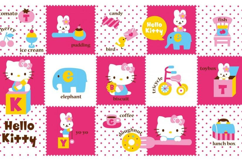 Set of Hello Kitty Wallpapers
