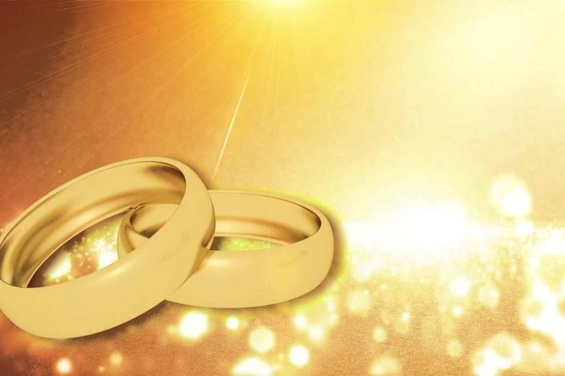 Wedding Video Background-Ring Animation HD