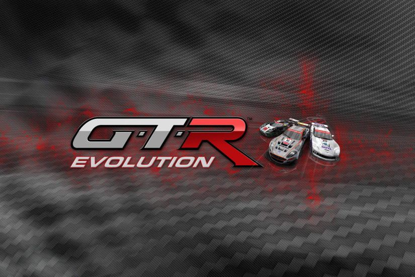 Gtr-evolution-logo-widescreen-wallpaper
