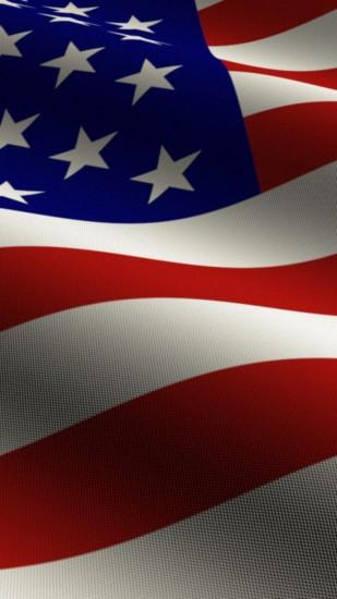 Beautiful American Flag Iphone Background.