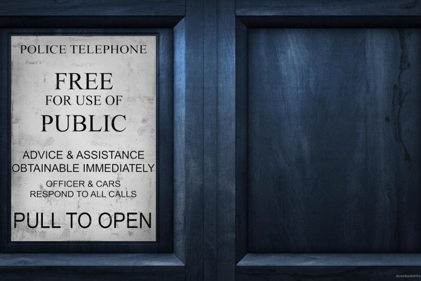 TARDIS Instruction for 1920x1080