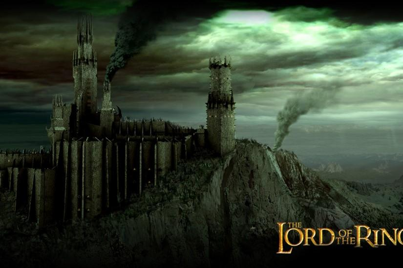 Lord Of The Rings Castle