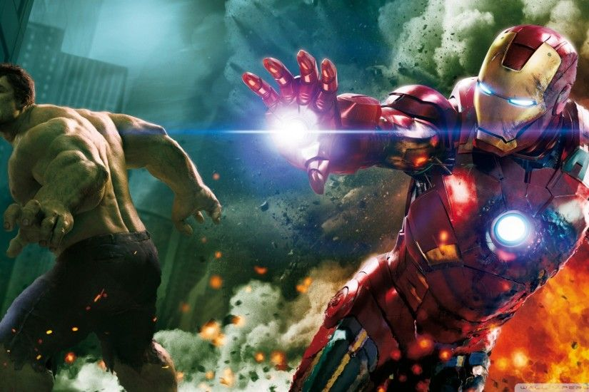 Avengers Hulk And Ironman Wallpaper 1920x1080 The, Avengers, , , Hulk .