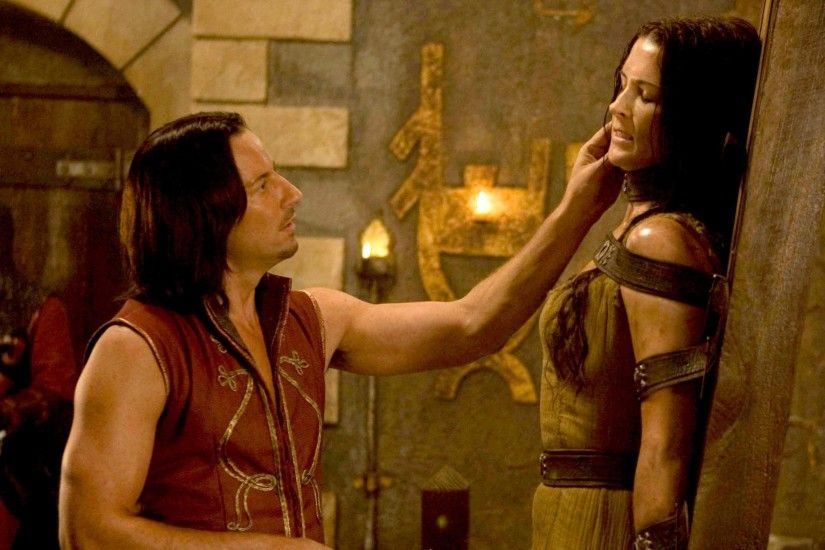 bridget regan legend of the seeker kahlan amnell darken rahl craig parker  3036x2592 wallpaper Art HD