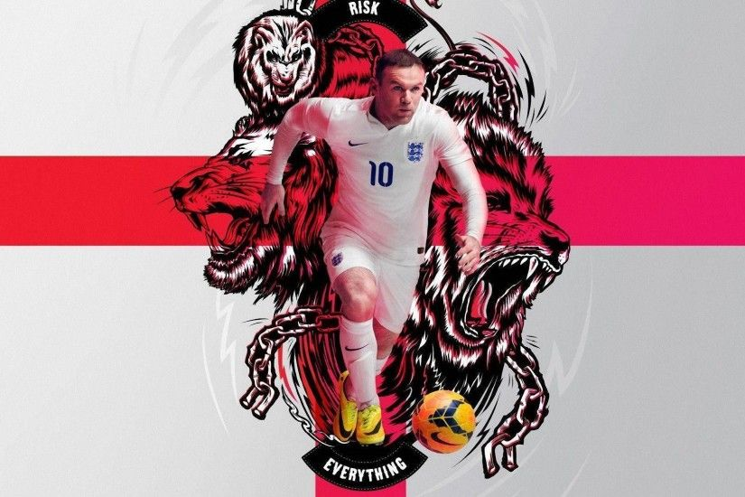 Rooney 2014 England Nike Risk Everything Wallpaper Wide or HD .