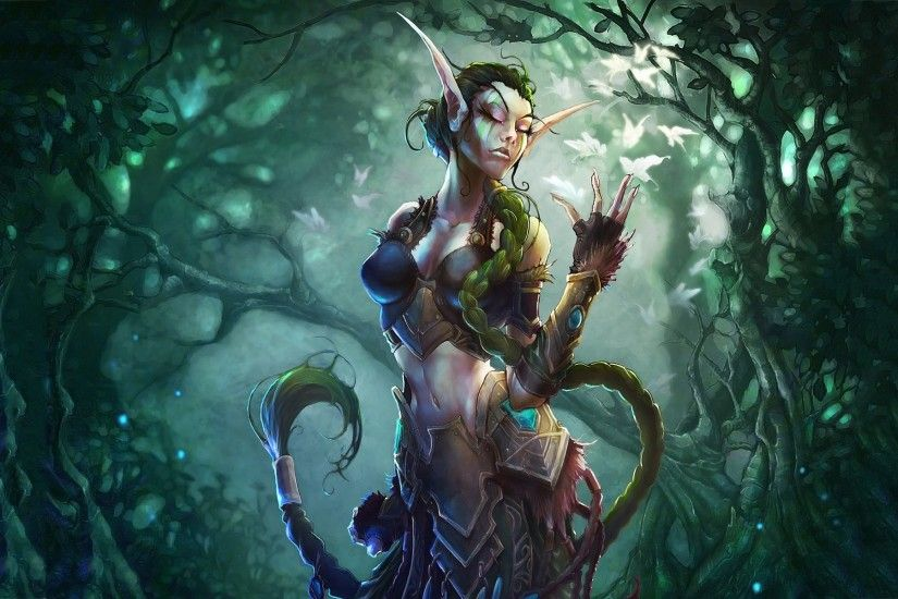 Description: The Wallpaper above is Ysera warcraft Wallpaper in Resolution  1920x1200. Choose your Resolution
