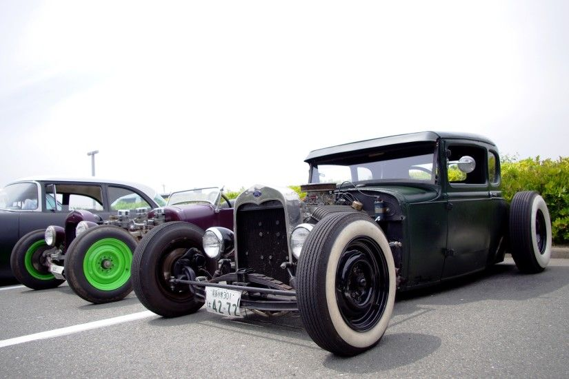 Vehicles - Hot Rod Rat Rod Classic Classic Car Engine Wallpaper