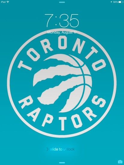 Seeing as how everyone is sharing their wallpapers, here is the one I made  and use on my ipad : torontoraptors