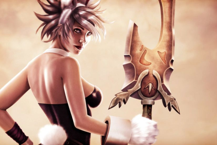 riven battle bunny art skin league of legends