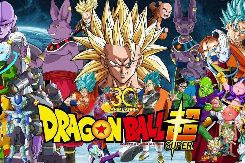 Anime - Dragon Ball Super Vados (Dragon Ball) Hit (Dragon Ball) Goku