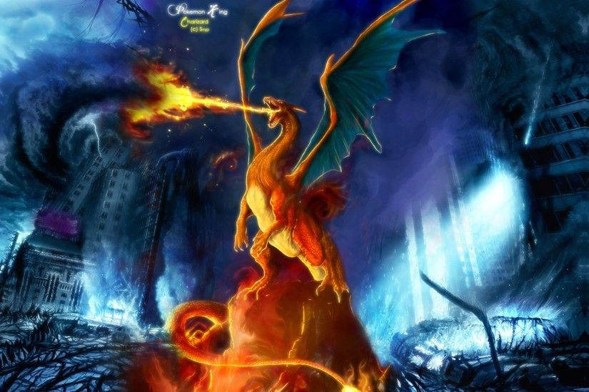 Preview Pokemon Mega Charizard Backgrounds by Marama Collinson