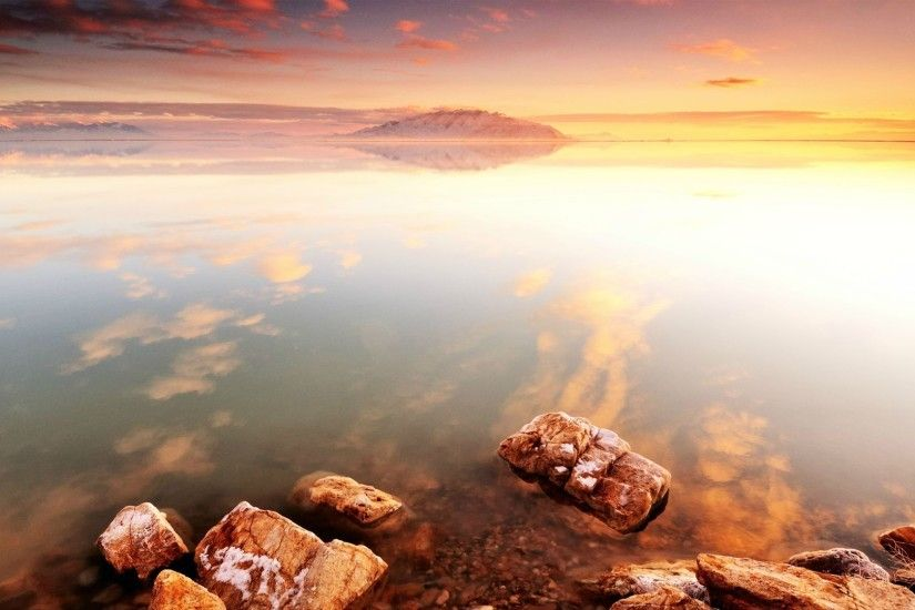 Stones, High Resolution, Water Backgrounds, Rocks Widescreen, Reflection, cool Images, Beaches, Ocean,sunset, Shore, Flower Backgrounds
