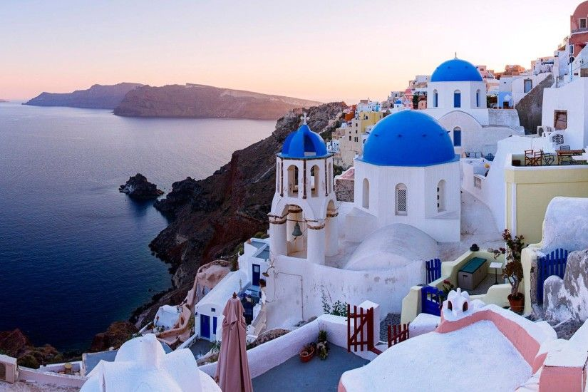 Santorini Greece Beaches Wallpaper