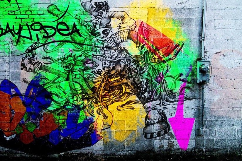 graffiti wallpaper desktops laptop wallpapers images 1920x1080