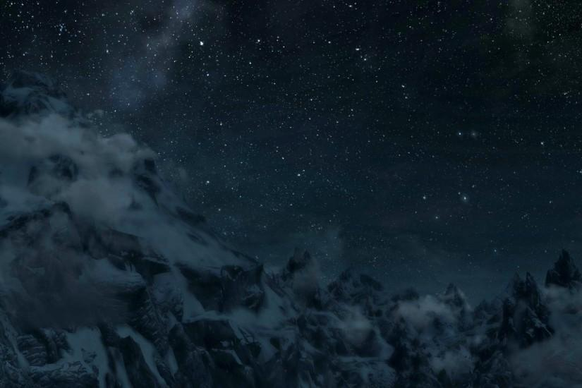 Mountain range panorama (dual screen wallpaper I made) [3840x1080] ( i .