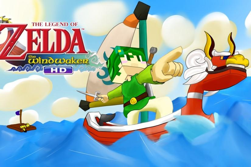 ... Legend of Zelda: The Wind Waker HD Thumbnail :D by BananaPsycho