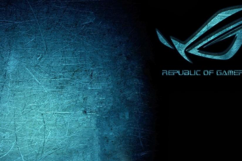 Republic of Gamers Metal Scratch i05 HD Wallpaper