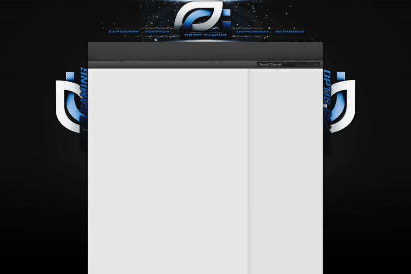 ... OpTic Gaming - YouTube Background by LexaDzn