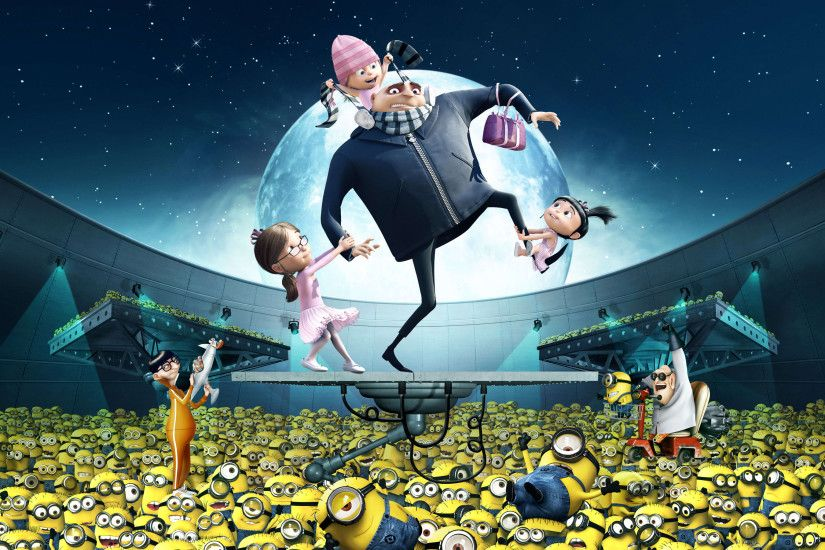 Gru Kids Minions Despicable Me