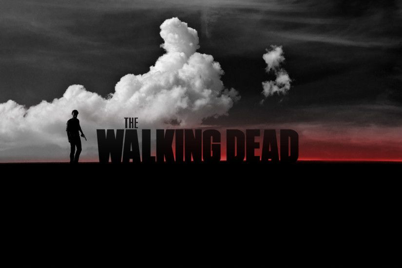 A Walking Dead Wallpaper I did a few years ago ...