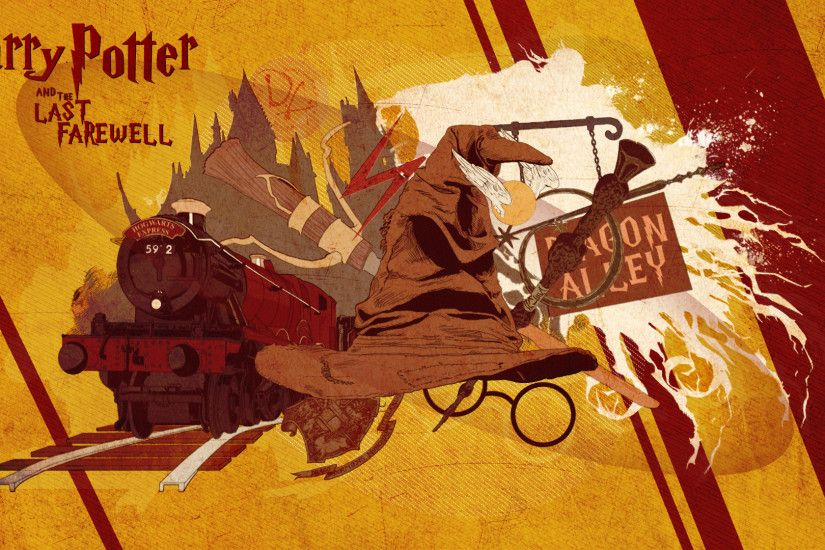 Harry Potter Farewell by iKaash Harry Potter Farewell by iKaash
