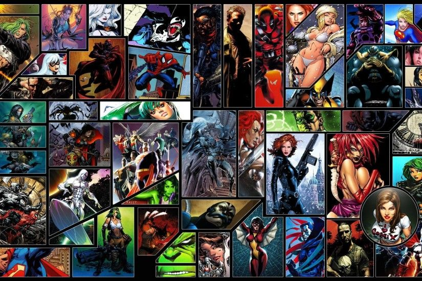 Comic book characters Wallpaper #