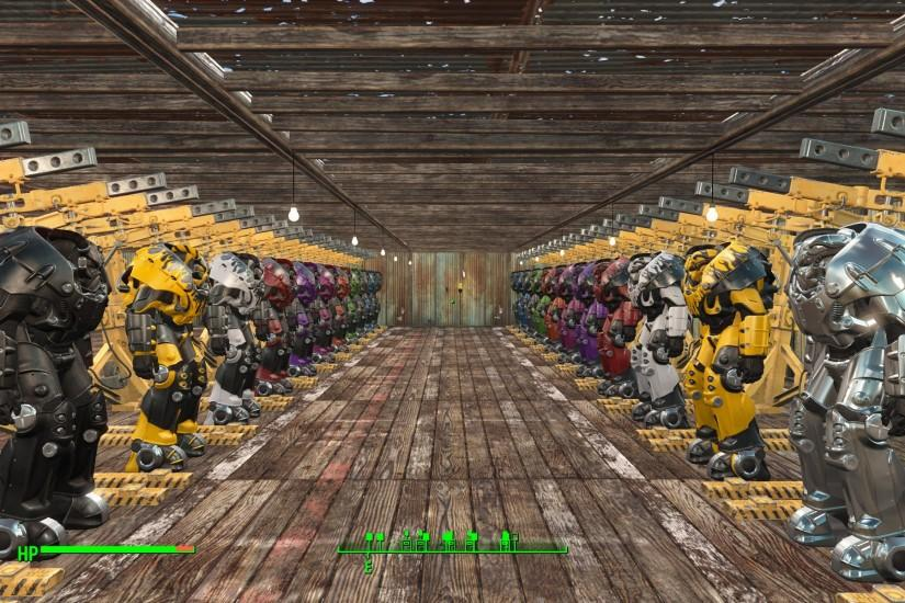fallout 4 power armor garage - Google Search