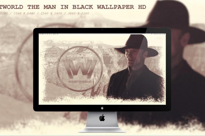 ... Westworld The Man in Black Wallpaper HD by BeAware8