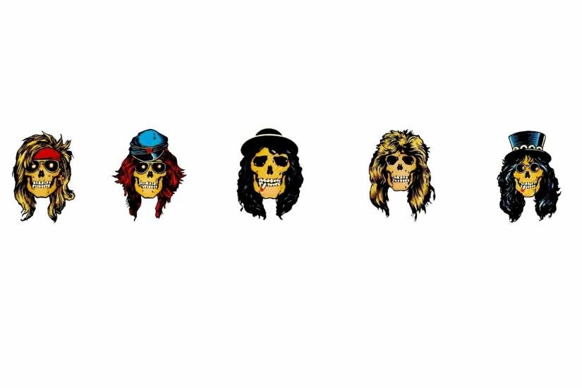 Guns Roses Heavy Metal Hard Rock Bands Groups Album Cover Logo Skulls Slash  Axel Rose Pictures For Desktop