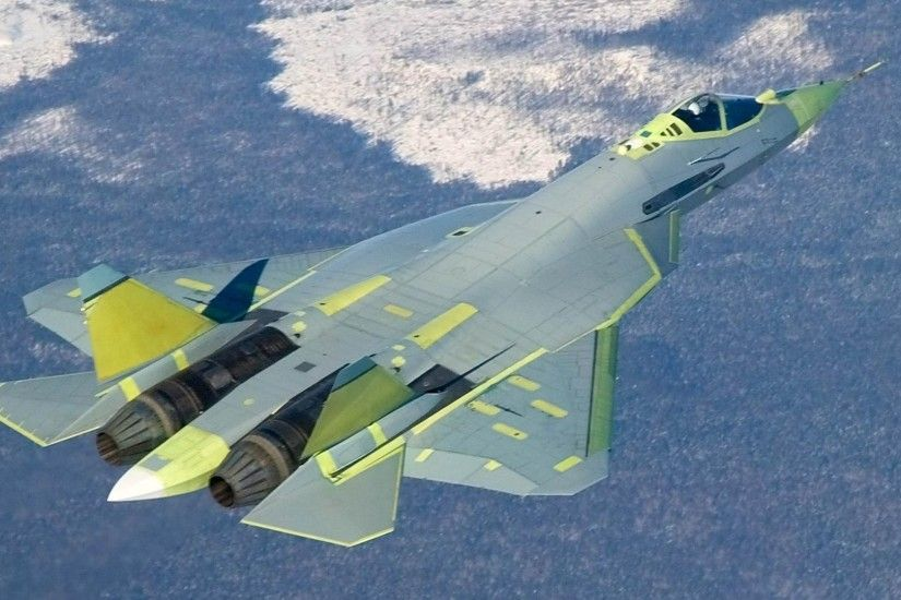 The Sukhoi Russia's stealth fighter jet, made its public debut at the air  show near Moscow. The jet, also called the PAK FA, will enter service in  2014 or