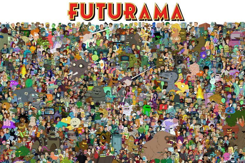 Futurama Backgrounds ·① WallpaperTag