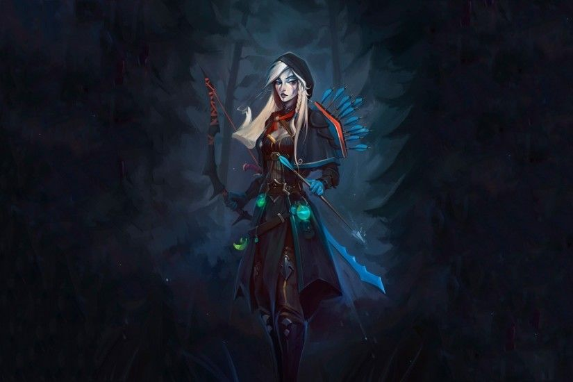 Dota 2, Drow Ranger, Archers Wallpapers HD / Desktop and Mobile Backgrounds