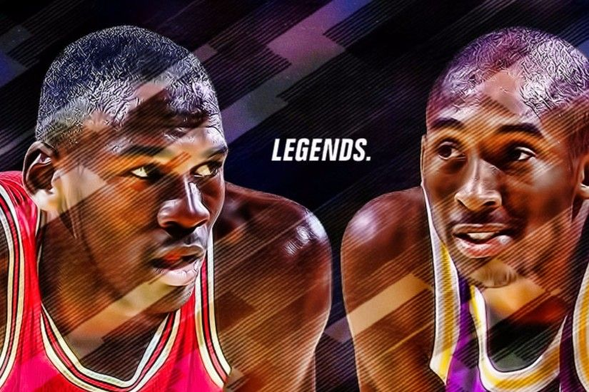 iPhone 6 PLUS Source · Jordan and Kobe Bryant 4K Wallpaper Free 4K Wallpaper