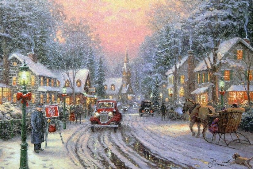 Related Pictures Thomas Kinkade Disney Wallpaper Free Wallpaper .
