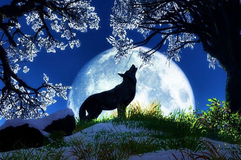 Howling Wolf Wallpapers Images ...