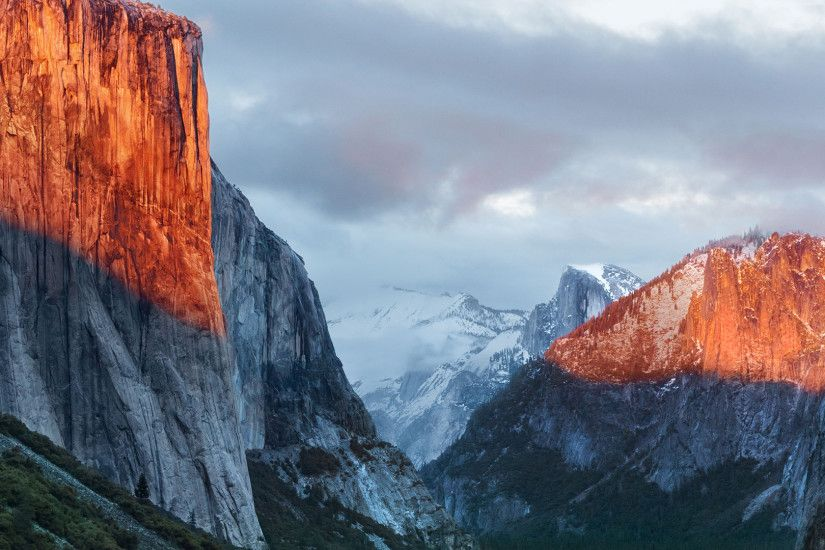 El Capitan Wallpapers With OS X Logo