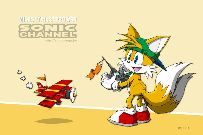 Tails and his toy.