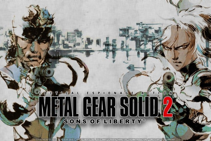 Preview wallpaper metal gear solid 2 sons of liberty, metal gear solid,  stealth-