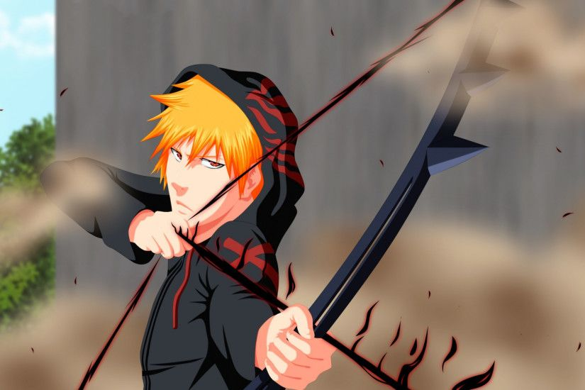 Preview wallpaper bleach, ichigo, kurosaki ichigo, boy, quincy, shinigami,  anime