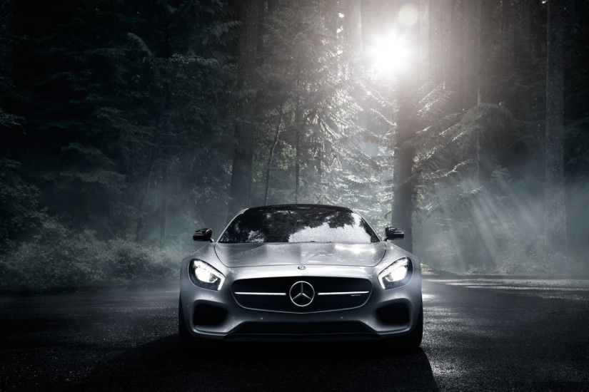... Car Steering Full HD Full Hd Mercedes 7 Preview Wallpaper Benz Mercedes  Amg Front View Silver Wood 1920x1080 ...