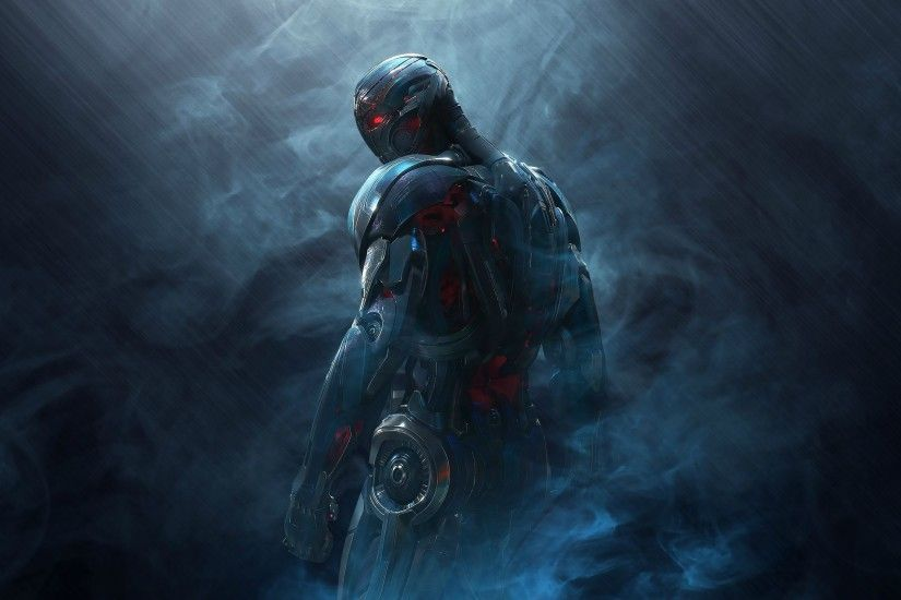 Preview wallpaper ultron, avengers age of ultron, avengers 3840x2160