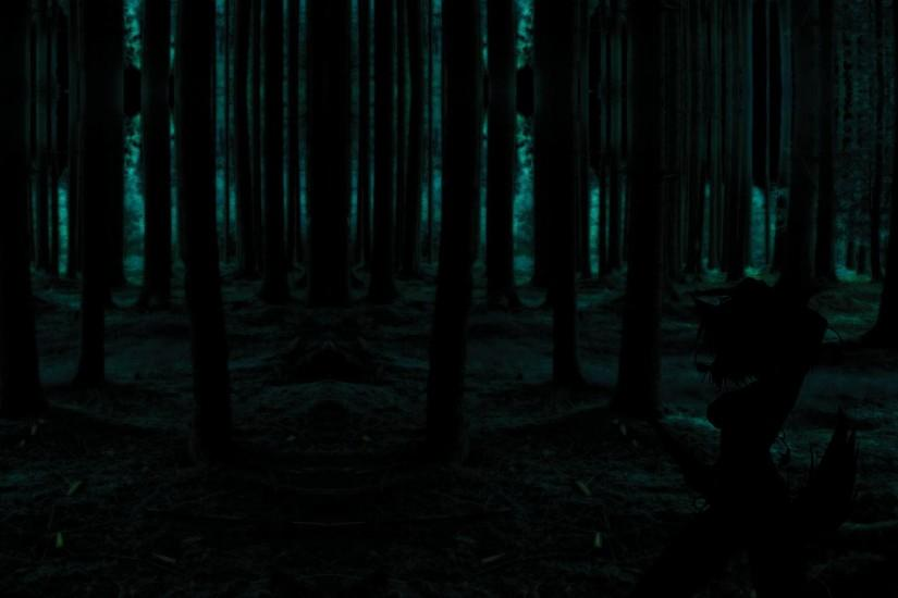 best dark forest background 1920x1080 for 1080p
