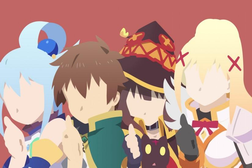 cool konosuba wallpaper 1920x1080 for mac
