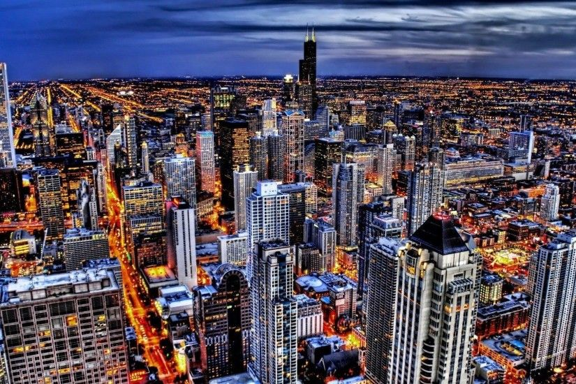 Similiar Chicago Skyline Desktop Theme Keywords