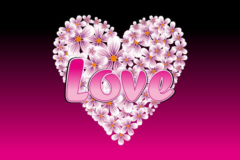 beautibul hearts | ... , wallpaper, floral, valentine, wallpapers, heart
