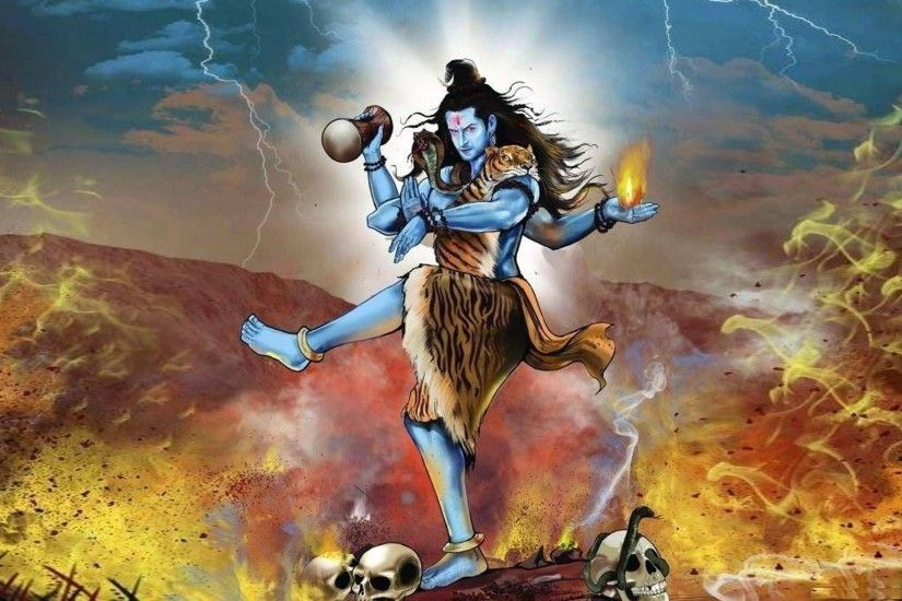 Lord Shiva rudra thandavam hd images