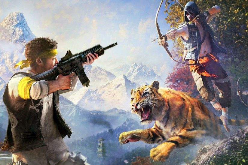 New 4K wallpaper from the video game - Far Cry 4 - listed below in 4K, HD  and wide sizes to be compaible with a wide range of phone, tablets and  desktop ...