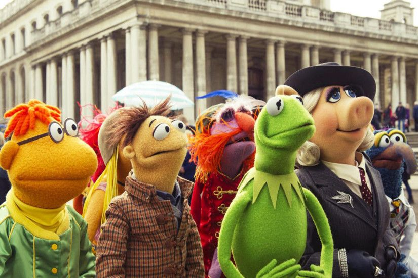 gonzo miss piggy walter kermit gonzo muppets most wanted 2014