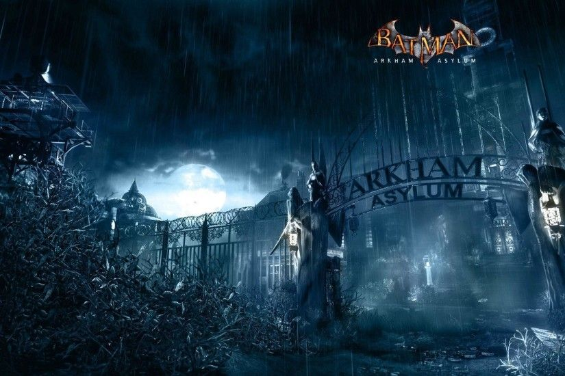 Wallpapers For > Batman Arkham Asylum Wallpaper 1920x1080