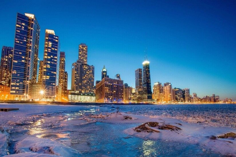 Chicago Skyline Wallpapers - Full HD wallpaper search